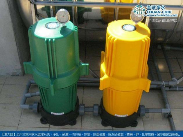 濾大師反洗淨化過濾器 3