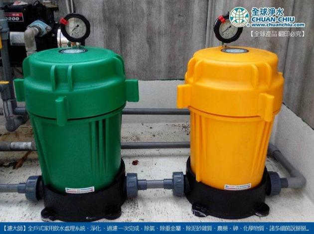 濾大師反洗淨化過濾器 4